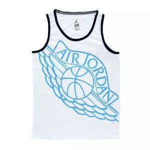 Nike Air Jordan Printed Boy's Youth Tank Top New